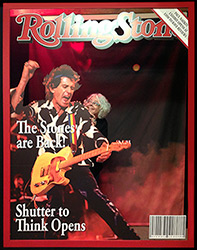 CMEG member makes the cover of the Rolling Stones!